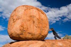 pushing-boulder
